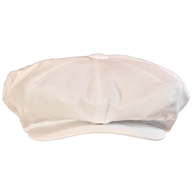... White Baker Boy Hat. DSC 0134 white copy 99e8f77cc0b