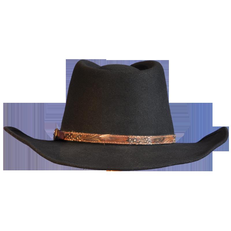 black wool felt cowboy hat races hats wedding hat