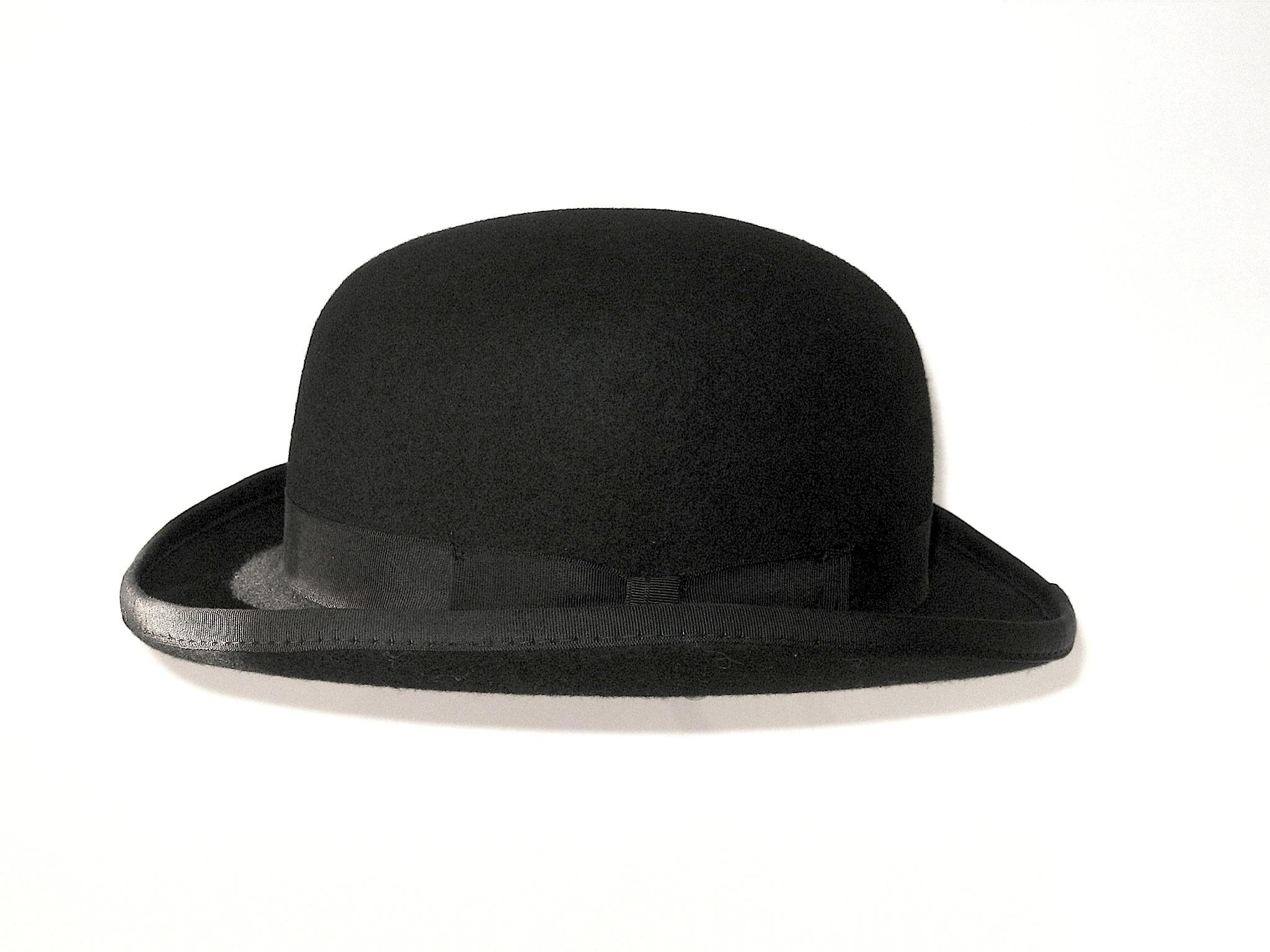 Black Bowler Hat Fashion